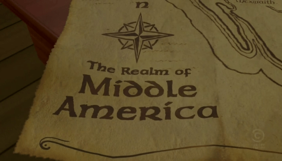 The Realm of Middle America