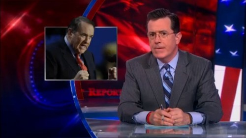 Stephen Colbert angry for women about being angry about no women in Obama's cabinet