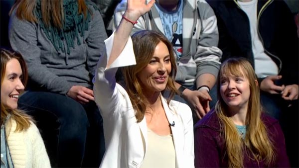 Kathryn Bigelow in The Colbert Report audience