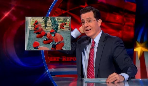 Stephen Colbert on Guantanamo Bay