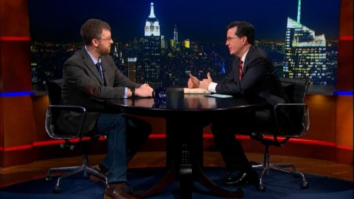 Matthew Guerrieri on The Colbert Report