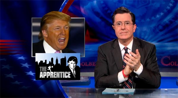 Stephen Colbert on The Job CBS