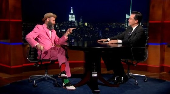 Kenneth Goldsmith on The Colbert Report