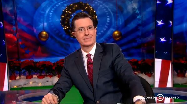 The Colbert Report Christmas Set