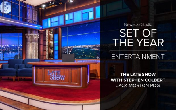 The Late Show with Stephen Colbert NewscastStudio Set of the Year