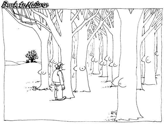 Back to nature by B Kliban Comic Strips Pinterest - teen resume example