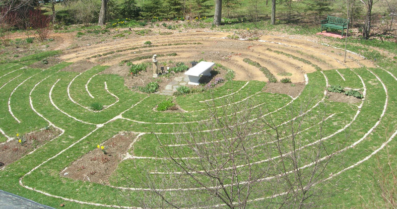 About the Labyrinth - labyrinth garden design