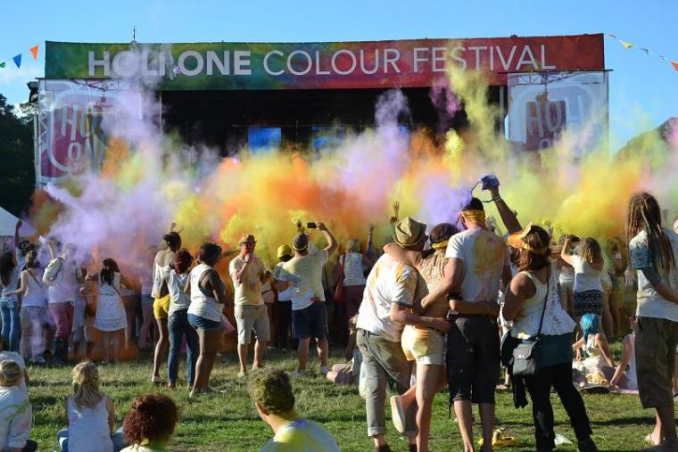 Holi One Colour Festival Plymouth