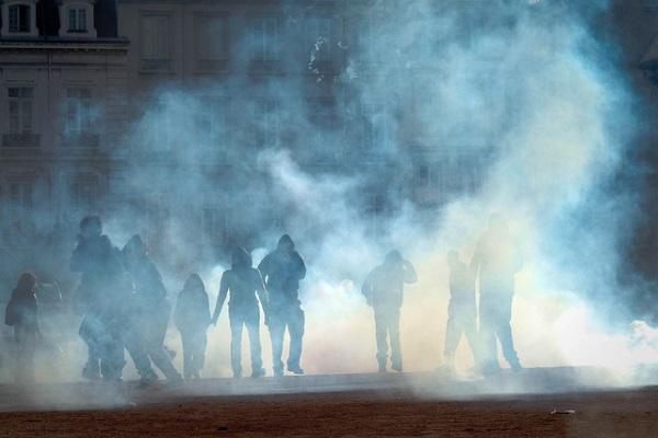 Huelga en Francia por Sylvain SZEWCZYK