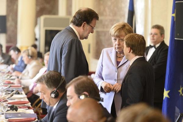 Merkel Rajoy por European Peoples Party
