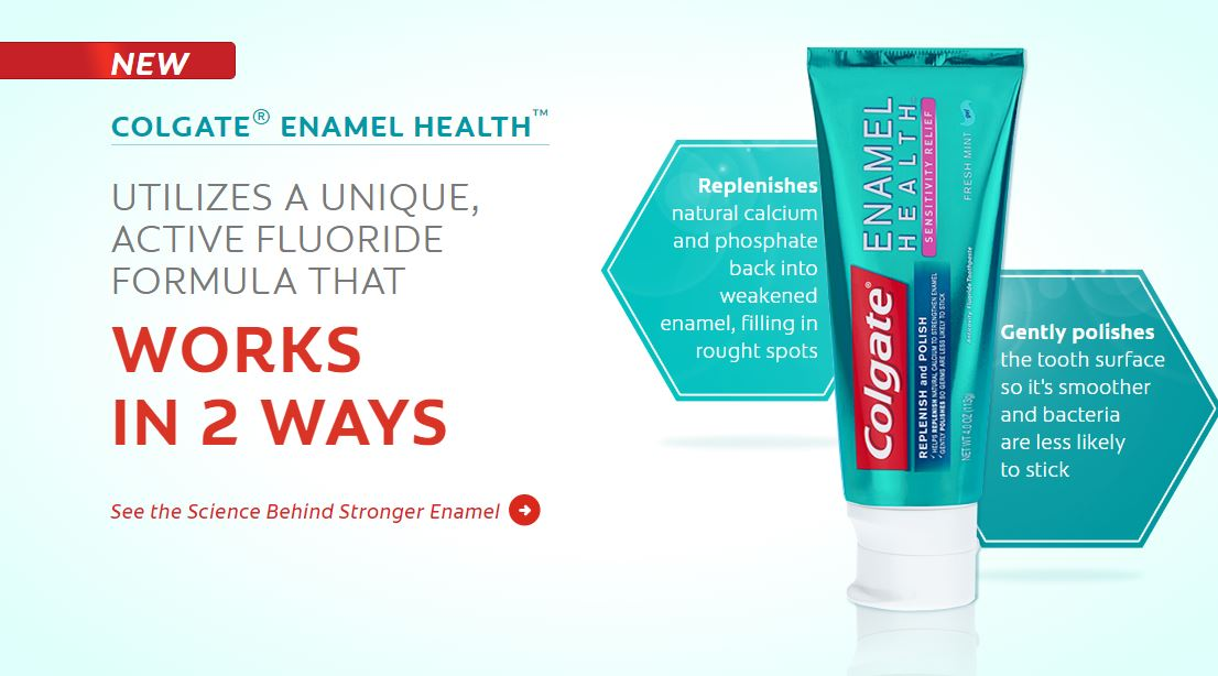 Colgate Enamel Health Home