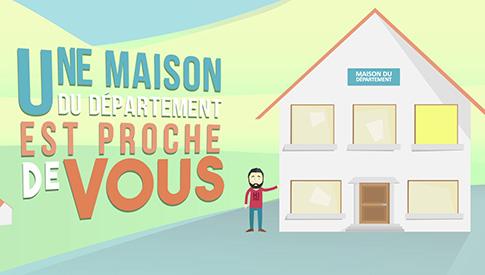 Maisons département isère grenoble motion design