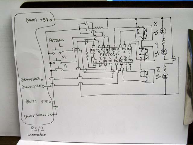 Ps2 Mouse Wiring Diagram - Carbonvotemuditblog \u2022