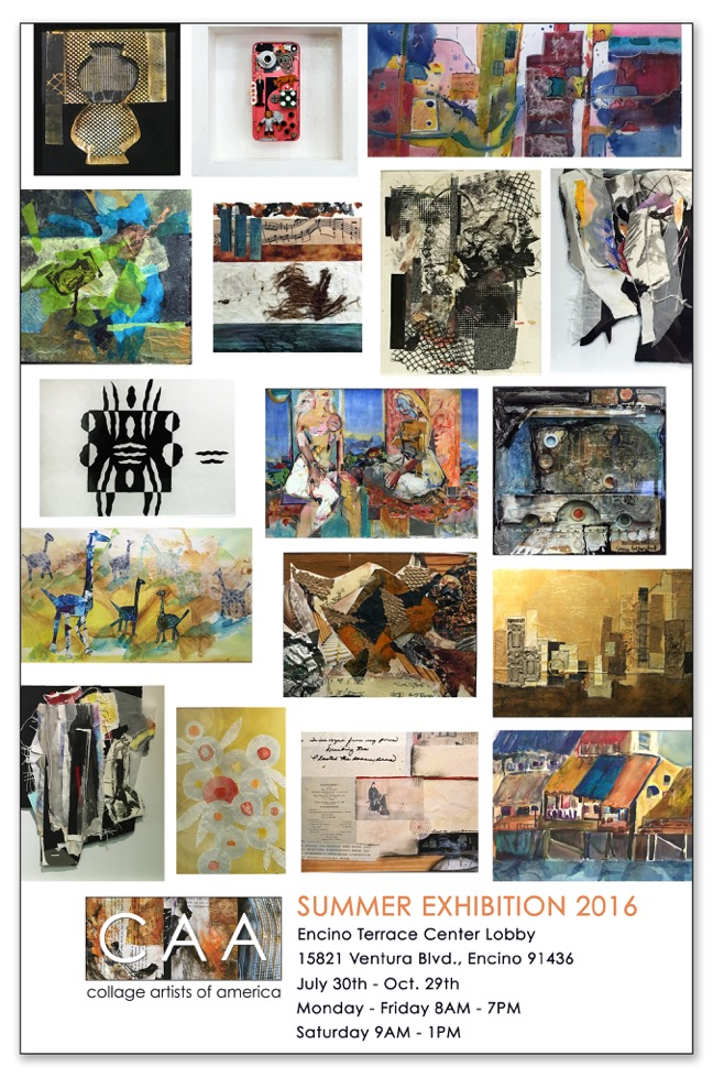 Collage Artists of America - Exhibits
