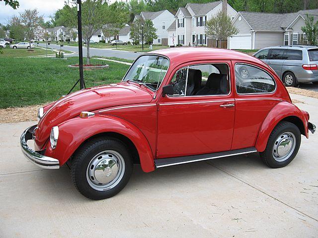 1968 Volkswagen Beetle For Sale Mooresville, North Carolina