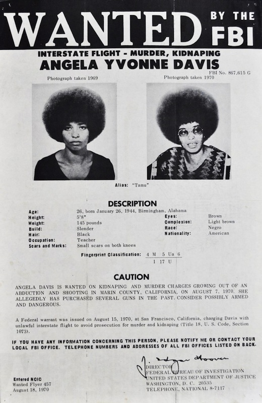 A Brief History of the Power of Angela Davis Posters Bitch Media