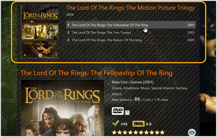 What\u0027s new in Movie Collector for Windows? - Collectorz