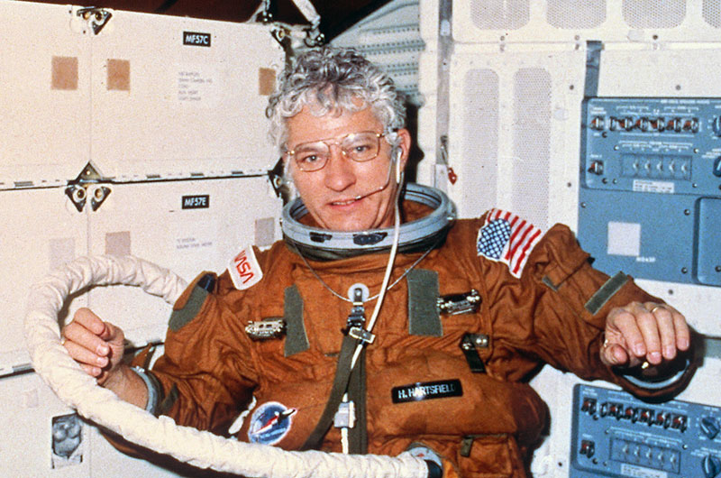 Astronaut Hank Hartsfield, led first flight of space shuttle