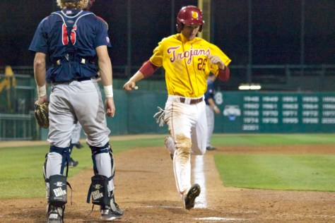 Blake Lacey comes across with a run. (Photo: Shotgun Spratling)