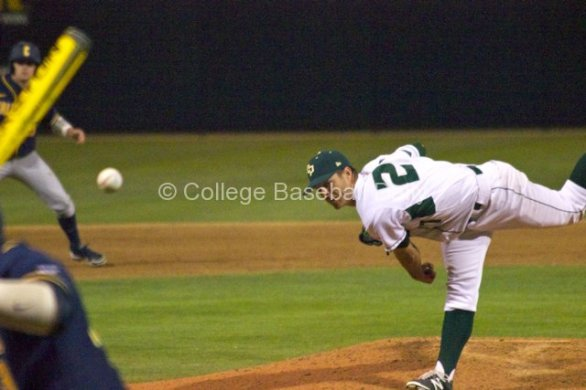 Taylor Chris recorded the save for Cal Poly.