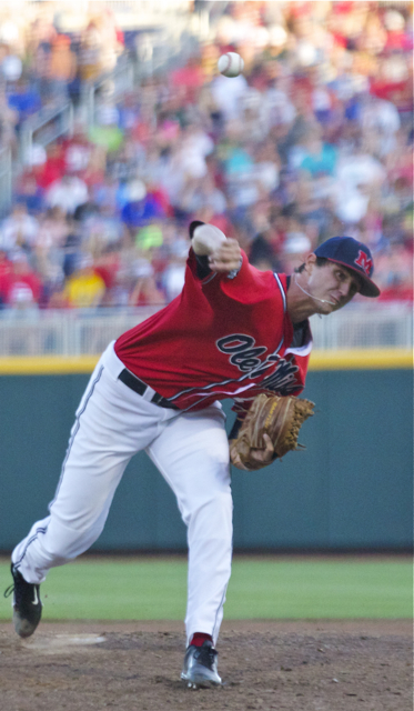 Chris Ellis pitched out of jams repeatedly. (Photo: Shotgun Spratling)