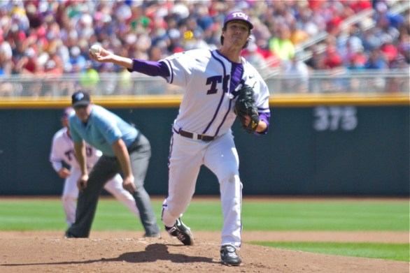 Preston Morrison struck out a career-high 10. (Photo: Shotgun Spratling)