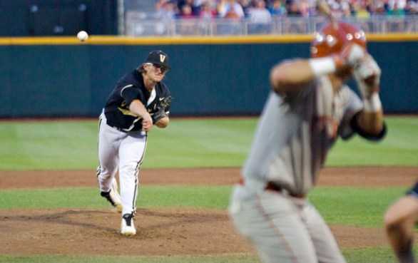 Carson Fulmer only lasted 4.1 innings. (Photo: Shotgun Spratling)