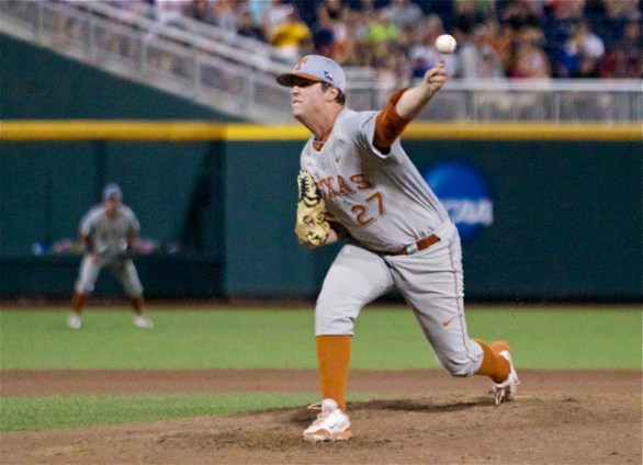 Travis Duke pitched 1.2 scoreless innings. (Photo: Shotgun Spratling)