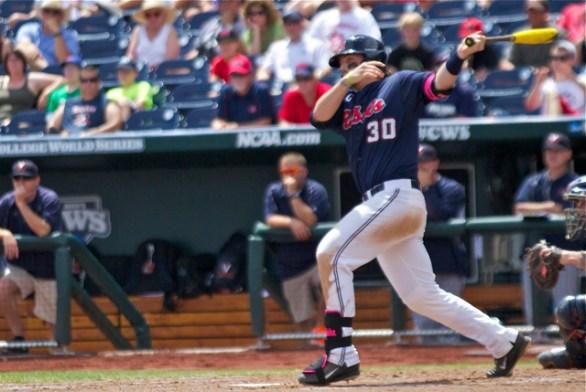 Will Allen hit a couple of balls hard. (Photo: Shotgun Spratling)