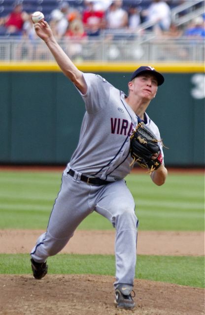 Josh Sborz pitched on Friday and Saturday. (Photo: Shotgun Spratling)