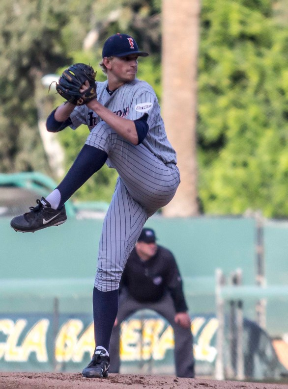 Phil Bickford allowed 4 H in 5.2 IP. (Photo: Mark Alexander)