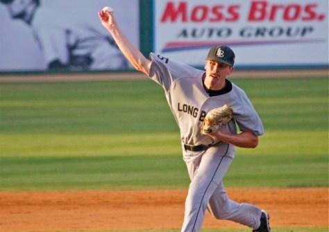 Josh Frye had a career-high 8 K. (Photo: Shotgun Spratling)