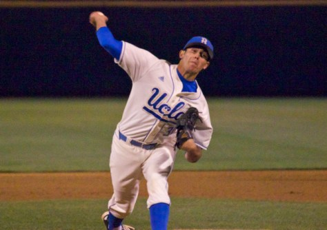 Jake Ehret has been strong in the UCLA bullpen. (Photo: Shotgun Spratling)