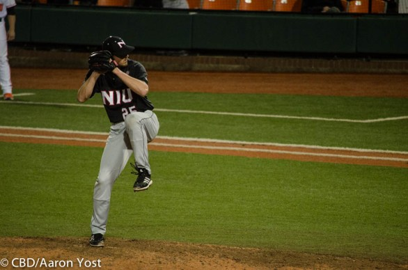 NIU pitcher 25