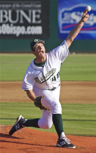 Matt Imhof allowed only three hits. (Photo: Shotgun Spratling)