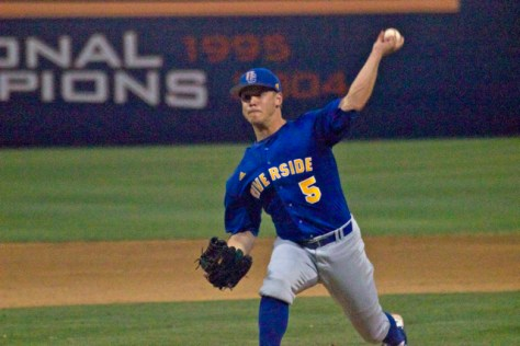 Dylan Stuart pitched four innings. (Photo: Shotgun Spratling)