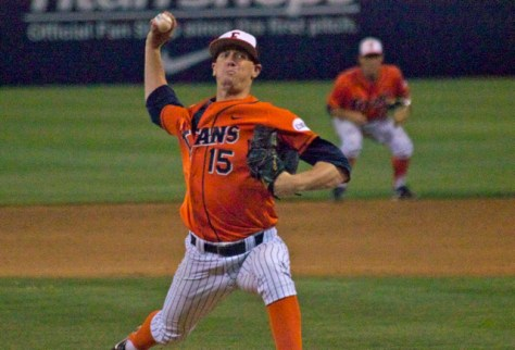Thomas Eshelman pitched his third consecutive CG. (Photo: Shotgun Spratling)