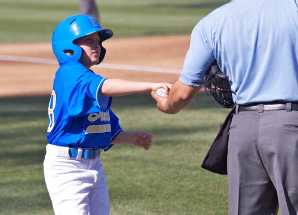 UCLA bat boy.