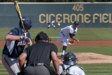 UCI starter, Evan Brock pitched a strong 7 innings