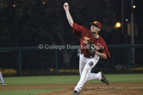 Brent Wheatley pitches.