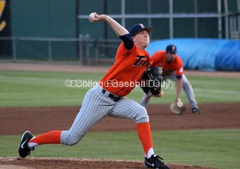Thomas Eshelman allowed only one hit in the game.