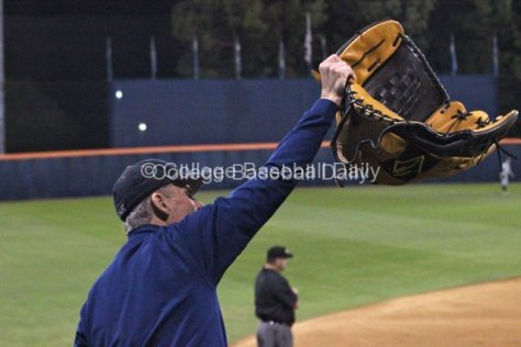 A Fullerton fan recommends Oregon use the big glove.