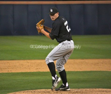 Matt Anderson pitches.