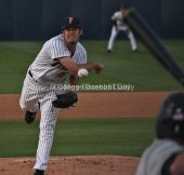 Dylan Floro pitched Fullerton's first complete game of the season.