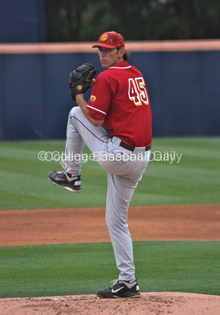 Ben Mount started for USC.