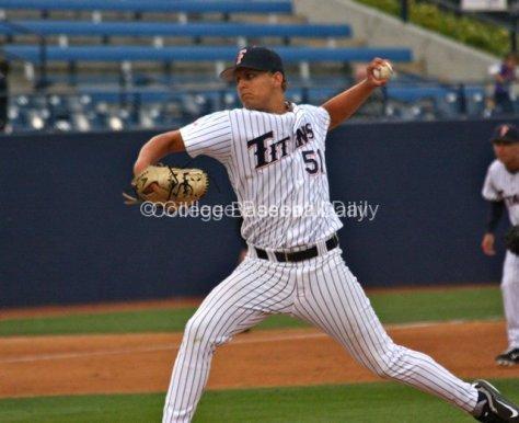 Tyler Pietzmeier faced only four batters.