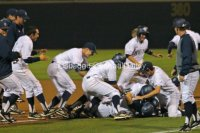 UC Irvine walked-off twice.