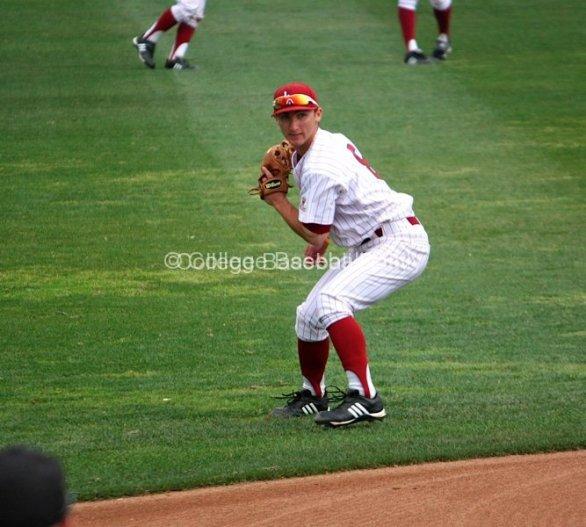 Joey Boney gets a relay throw