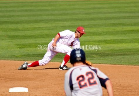 Joey Boney makes a play up the middle.