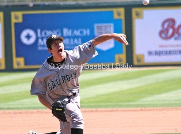 Matt Imhof pitched seven innings.